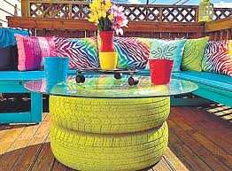 calling all home decor addicts 5 funky diy tips to recycle old