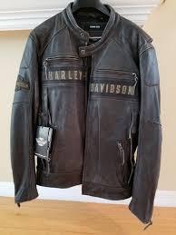 harley davidson men s passing link triple vent leather jacket xl for in tampa fl offerup