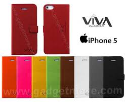 viva standable apple iphone 5s 5s se leather case book cover