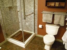 simple brown bathroom designs. Plain Simple After An Artistic Stencil Design And Simple Brown Bathroom Designs B