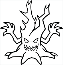 Scary Coloring Pages Printable Scary Coloring Pages Free Spooky