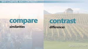 compare contrast essay definition topics examples video  compare and contrast essay tips