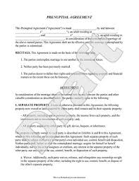 prenup samples prenuptial agreement new york template sample prenup yun56co ideas