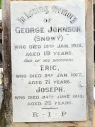 Eric Hector Johnson (1909-1917) - Find A Grave Memorial
