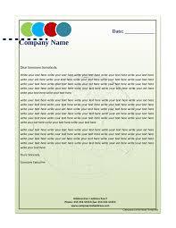 Letterhead Sample In Word Business Company Letterhead Tvsputniktk 4