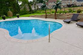 concrete pool decks. Modren Pool This Is The Image Description Intended Concrete Pool Decks