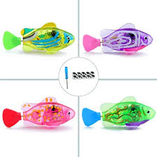 WoLover <b>Interactive</b> Swimming Robot Fish Toy for <b>Cat</b> and <b>Dog</b>