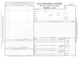 Auto Repair Invoice Templates Impressive Automotive Invoice Template Free Auto Repair Bill Or Receipt