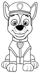 Paw Patrol Coloring Pictures Rouille Lguerche Pw Rol Pge Imge Paw