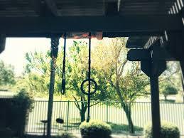 outside gymnastic rings
