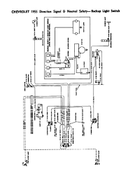 chevy wiring diagrams diagram 3 · 1955 directional signals neutral safety backup switches