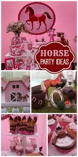 Cowgirl Birthday Decorations 17 Best Ideas About Horse Birthday Parties On Pinterest Horse