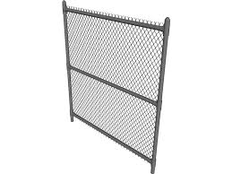 metal chain fence. Perfect Chain Chain Link Fence 3D Model On Metal I