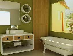 Green Bathroom Designs