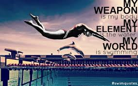 Swimming Quotes Cool SWIMMING QUOTES Photo