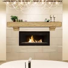 Wood fireplace mantels shelves Cottage Fireplace Efireplacestorecom Pearl Mantels 412 Shenandoah Fireplace Mantel Shelf