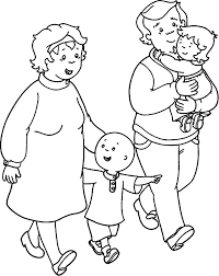 Printable Caillou Coloring Pages Printable Coloring Page For Kids