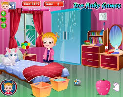 baby room cleaning games. Baby Hazel Cleaning The House Room Games