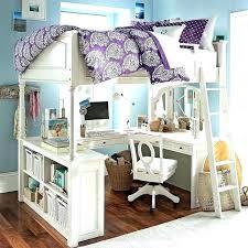 acme freya white loft bed with bookcase ladder bunk bookshelf holiday shelves kids desk underneath round