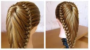 Coiffure Avec Tresse Belle Coiffure Facile Faire Cheveux Long