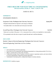 Engineering Skills Resume Engineering Resume Devmyresume Com