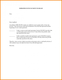 Raise Rent Letter Rent Increase Letter Template Template Business