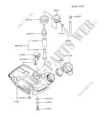 Tg Catalog Fuel Tank For Kawasaki Tg Motors Tg033d Kawasaki Genuine