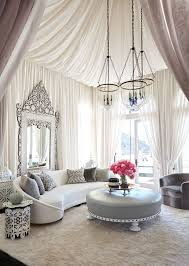 Classic Elegant Moroccan Living Room With Beautiful Ceiling (Image 3 of 25)