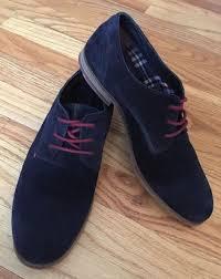 Tommy Hilfiger Shoes Size Chart Europe Tommy Hilfiger Mens Shoes Us 7 5 Blue Suede Oxford Eu 40