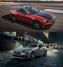 Convertible Face-Off: Mercedes SLC 300 vs. Fiat 124 Spider ...