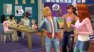 image cool kitchen. Amazon.com: The Sims 4 Cool Kitchen Stuff [Online Game Code]: Video Games Image