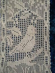 Wonderful Antique Mary Card Design Holly Bird Doily Chart No 71 1931 Ebay