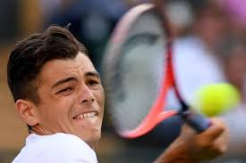 Friendly reminder that taylor fritz was serving and the line judge called his serve out, so domi yelled across the court i'd challenge! (fritz wasn't going to challenge and just go right to his second serve). Taylor Fritz I Ve Won Money From Betting With A Lot Of The Tennis Guys