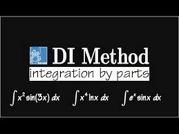 Integration By Parts Di Method Very Easy