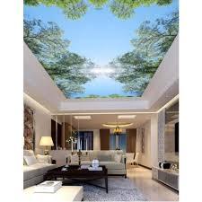 3d Ceiling Design Wallpaper Amazon Com Pbldb N Home Decor 3d Ceiling Murals Wallpaper