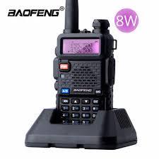 <b>BaoFeng UV</b>-5R Real <b>8W</b> Walkie Talkie Dual Band VHF/UHF Two ...