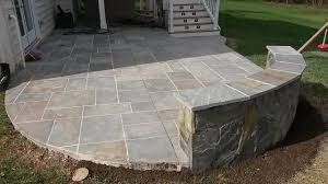 backyard stamped concrete patio ideas news detached back yard with fireplace curved stamped concrete patio