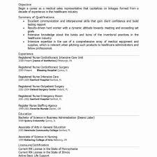 Medical Sales Resume Examples Gorgeous 48 Comfortable Medical Sales Resume Examples Sierra