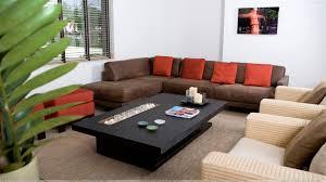 Orange And Brown Living Room Furniture Lavita Home - Living room furnitures