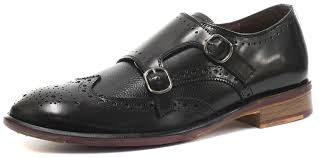 london brogues lincoln buckle mens leather sole monk shoes black men s loafer flats top designer collections london brogues jermyn suede leather chelsea
