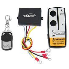 winch control 12v 12 volt wireless remote control kit for truck jeep atv winch