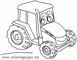 Tractor Kleurplaat