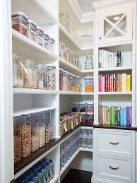 15 use some of your pantry space for food books and novels bonus points for color coding