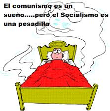 Bildergebnis für rumbo que va el socialismo caricatura