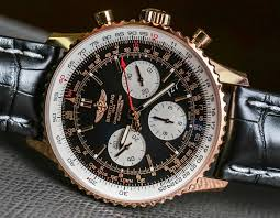 1 Breitling Watches Most Rose Luxury The - Gold Navitimer Online Swiss 1 Replica 01