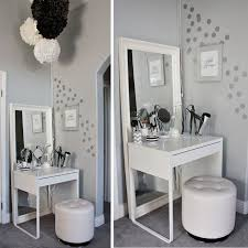 makeup vanity with chair. bedroom makeup vanity - foter with chair