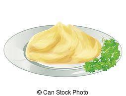 mashed potato clipart.  Potato Mash Potatoes 9solated On A White Backround On Mashed Potato Clipart S