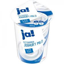 Fettarmer Joghurt 1,5 Fett/0,1 Fett - Lidl Deutschland