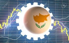 Cyprus Stock Market Chart Forex Candlestick Pattern Trading Chart Concept Financial Market