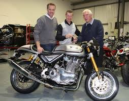 first norton café racer goes to owner